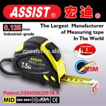 auto lock 3M 5M 5.5M 7.5M 8M 10M New ABS animal tape measure/stainless steel oil measuring tape/tape measure 5m