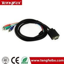 OEM/ODM vga to av cable / vga to av converter 1.5m,1.8m,3m,8m
