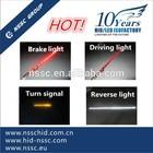 Red Amber White 12v 60inch led tailgate light bar driving brake reverse turn light