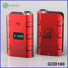Electronical cigarette smy god 180 huge vapor hottest sale in market