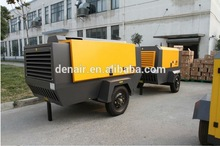 10bar Germany Electric Mobile Air Compressor for Shipping Yard