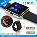 bluetooth android 2015 reloj de la cámara baratos reloj digital reloj inteligente para el teléfono móvil