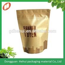 top quality manufacturer wholesales brown kraft paper bag for tea