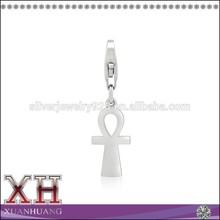 Simple Charm Ankh Cross Pendant Silver Wholesale Silver Ankh Pendant