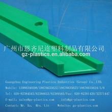 PE HDPE UHMW-PE UPE straight guide rail