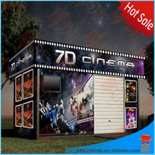 New business opportunity interactive 7d simulator cinema 7d cinema cabin/box