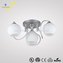 GZ20405-3+1C decorative luminaire lustre interior Suspended Ceiling Light Modern