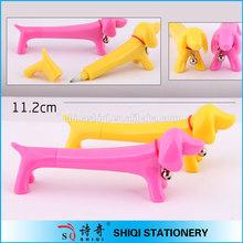 Promotional advertising gift animal dog ball pen