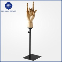 New Design Wooden Mobilizable Hand Mannequin for Jewelry Display