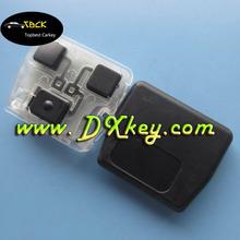 High quality 3 button car key pad for Toyota land cruiser prado smart key toyota car remote key with 315mhz