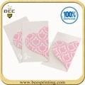 الطباعة الصينية بطاقة دعوة ازالة الاعشاب الضاره/ بطاقة دعوة الزفاف مروحة/ بطاقة دعوة زواج عينة