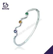 Innovate design cz stone 2015 fashion new trends bracelets