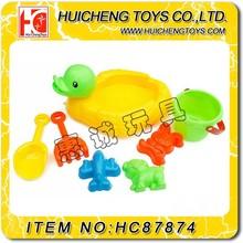 Eco-friendly 7PCS Mini sandy beach toys Pre-school toys