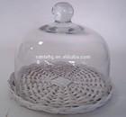 Glass cake bread cover