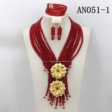 Shining costume jewelry set AN051-1