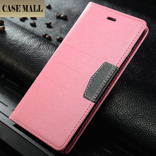 Double Color Wallet Leather Case For iPhone 6+ ,Leather For iPhone 6 Plus Case ,For iPhone 6 Plus case china supplier