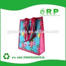 Floral print beautiful design shopping bag