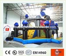 2015 Hot sale Kids Inflatable Fun City Amusement Park Inflatable Game Park for sale