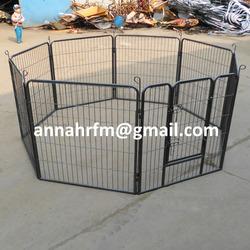 8 side large outdoor folding cheap pet dog playpen