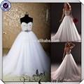 newes jj3682 أوكرانيا منتفخ الكرة ثوب الأميرة فستان زفاف من الصين
