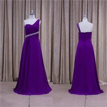 Stunning Empire waist floor length wedding red evening dress