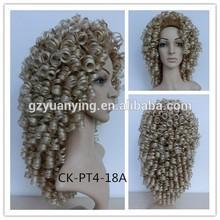 Guangzhou Yuanying Kanekalon irish dance wigs costume wig for ireland dancer