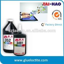 loca oca uv optical glue spare parts for sony xper, uv loca glue for electronic component