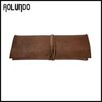 Retro Soft Handmade Leather Pen Case