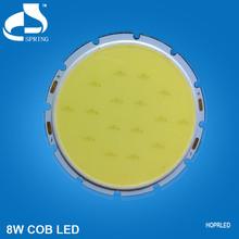 High power natural white cob 8w adjustable down light led
