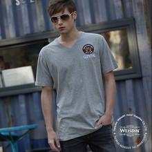 garment dyed manufacturing new fashion brand name tshirt