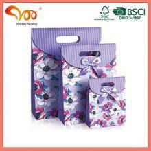 Latest Design Unique discount brand printed paper bag