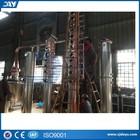 bubble cap plates distiller/ vodka reflux still equipment/stripper distillation/hot sale for vodka, whiskey making