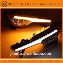 New Arrival High Quality LED Daytime Running Light for Kia K7 Cadenza Super Bright LED DRL for Kia K7 Cadenza 2011 2012