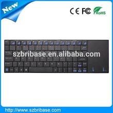 Shenzhen cheap 2.4G mini wireless mouse keyboard combo with Touchpad factory