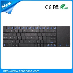 Shenzhen cheap 2.4G mini wireless mouse keyboard combo with Touchpad factory