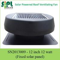 12 inch High Efficiency Patented Solar Ventilator Blower Fan