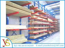 storage rack angle iron rack for lumber/plastic