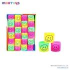 24PCS Smile PVC Rainbow Spring Toy EN71/7P/HR4040/ASTM