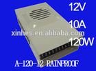 12V 10A 120W LED power supply (A-120-12 RAINPROOF)