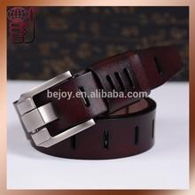 Causal 100% Genuine Leather Men Belt, Top Grade Cowhide Man Belt 110-130cm (MGB129-1)