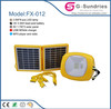 2014 new and hot portable kit solar panels for home use