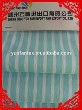 2015 fashion latest Italy design pattern cotton poplin blue stripe fabric for shirt
