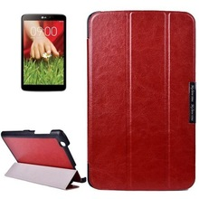 Crazy Horse Texture 3 Folding Texture Flip Leather Case for LG G Pad 8.3