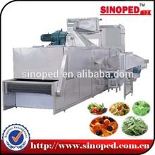 Large Output Hot Air Conveyor Stevia Leaves Dehydrator Equipment