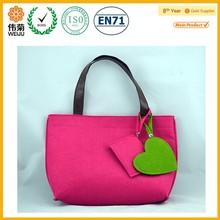 felt tote shopping bag