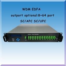 high power pon multi-outputs catv optical fiber amplifier yedfa