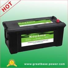 N150MF made in China 12V150AH maintenance free battery for korea