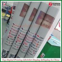 decorative vinyl floor stickers,self adhesive vinyl signs for advertising display