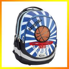 New design ergonomic school basketball backpack