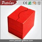 red high grade cool design wedding door gift boxes